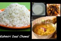 Kashmiri Daal Chawal