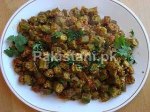 <b>Recipe of Ladyfingers/Okra (Bhindi ki Sabzi)</b>
