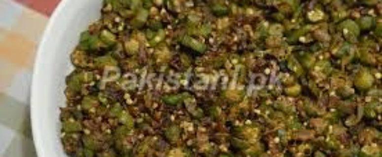 masala-bhindi (Ladyfingers/okra)
