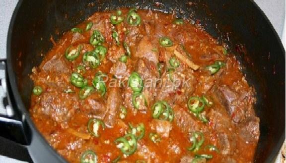 Peshawari-karahi (mutton)