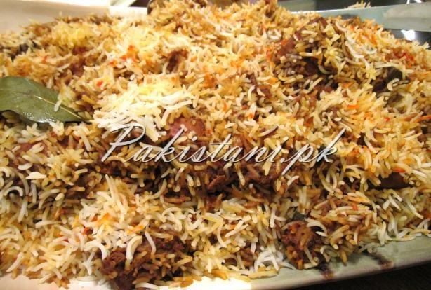 Hyderabadi Biryani (Kachchi biryani)