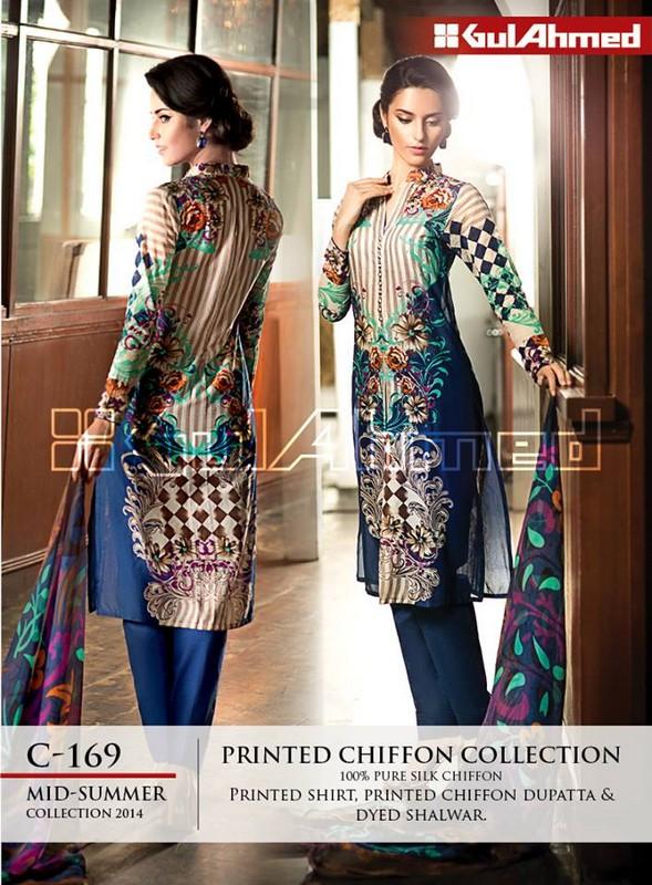 Latest Mid Summer Dresses Trends 2014 For Women 11
