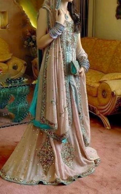 Latest Pakistani Valima Dresses 2014 For Brides 16