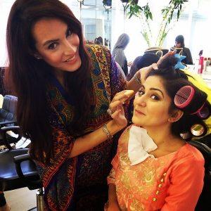 <b>Nadia Hussain Has Opened Salon</b>