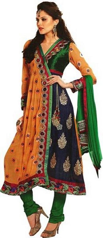 Trends Of Angrakha Anarkali Frocks 2014 For Wedding 3