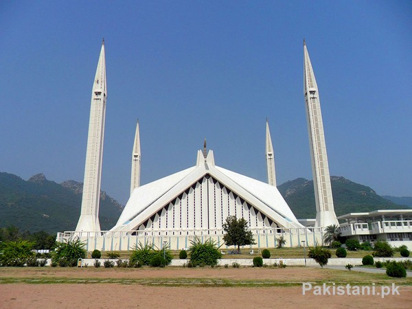 5 Beautiful Places To Visit In Islamabad - Shah Faisal Mosque