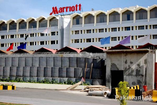 Top 5 Hotels In Pakistan - Marriott Hotel