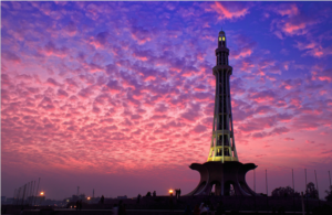 minar e pakistan evening