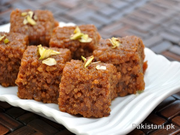 5 Popular Pakistani Sweet Dishes - Sohan Halwa