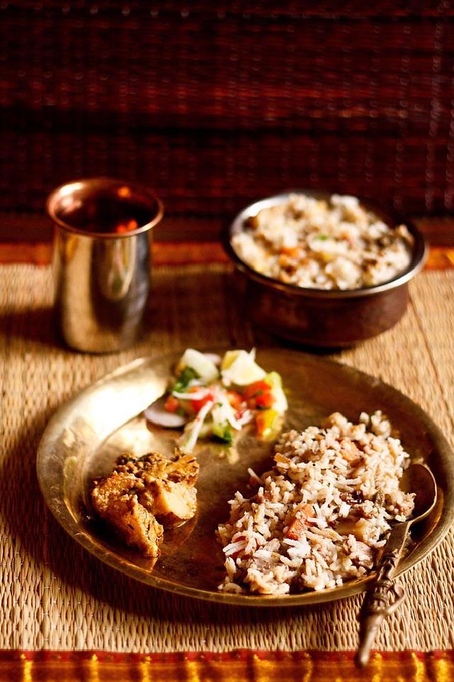Amritsar Vegetable pulao