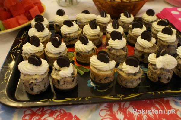 Baking Recipe Of Mini Cheese Cake by Chef Shireen Anwar 1