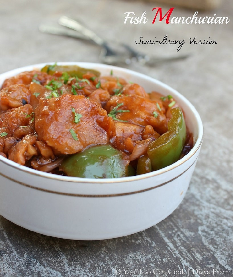 Fish Manchurian by Che...