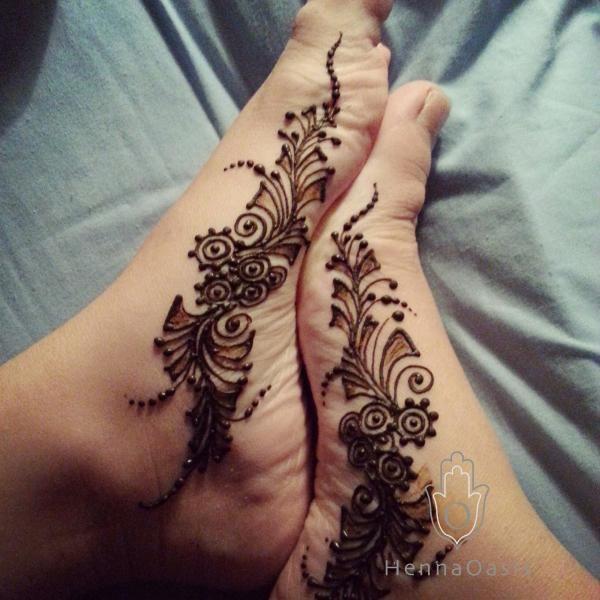 arch henna mehndi