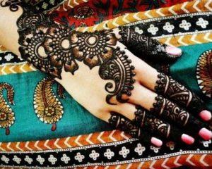classic mehndi design indian pakistani
