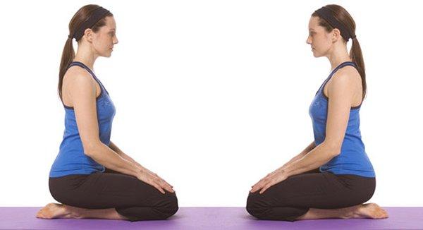 10 Yoga Poses For Diabetes Patients-Vajrasana