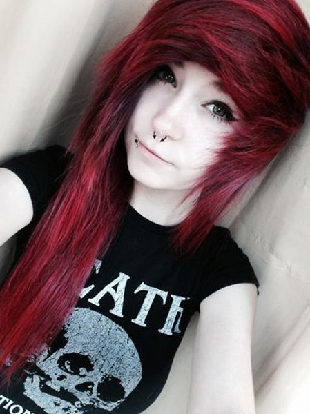10 Beautiful Emo Hairstyles For Girls