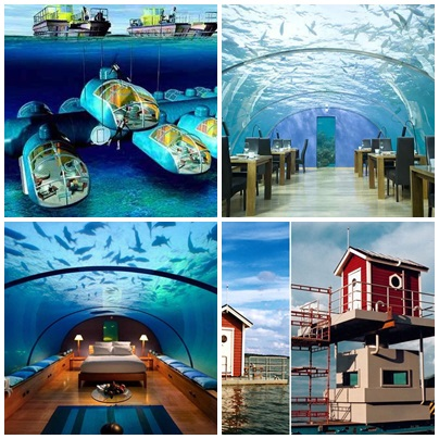 10 Beautiful Underwater Hotels In The World