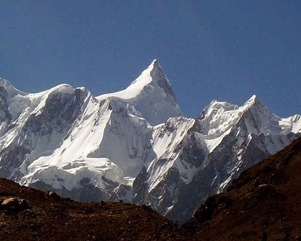 10 Highest Mountains In Pakistan -Batura