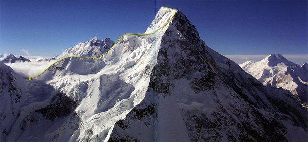 10 Highest Mountains In Pakistan -Broad Peak