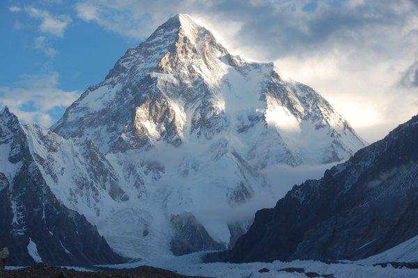 10 Highest Mountains In Pakistan -ChogoriK-2