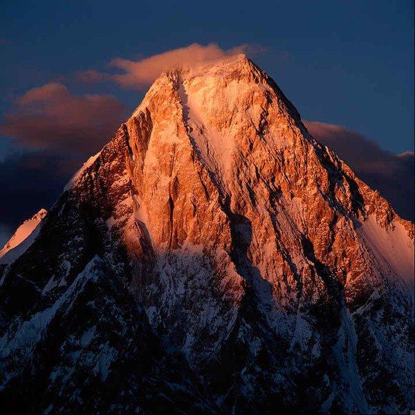 10 Highest Mountains In Pakistan -Gasherbrum -I, Hidden Peak