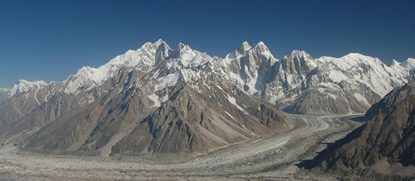 10 Highest Mountains In Pakistan -Kunyang Chhish