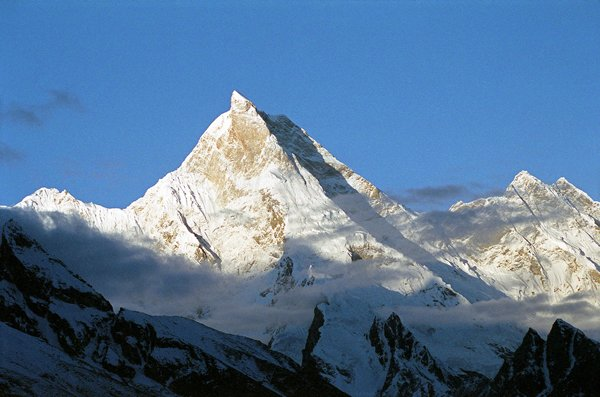 10 Highest Mountains In Pakistan -Masherbrum
