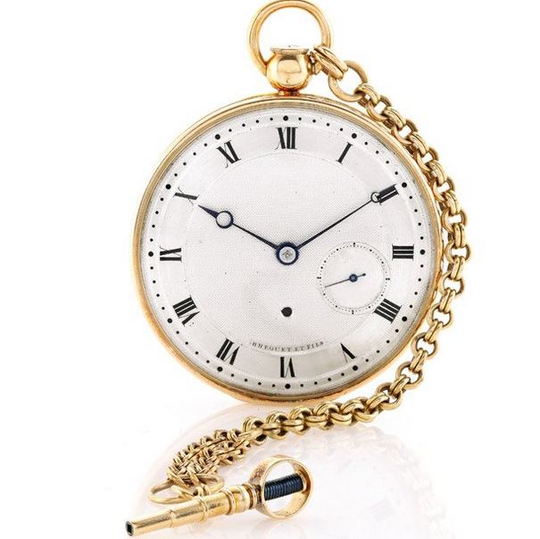 10 Most Expensive Watches In Pakistan – Brequet Pocket Watch 1970 BA 12