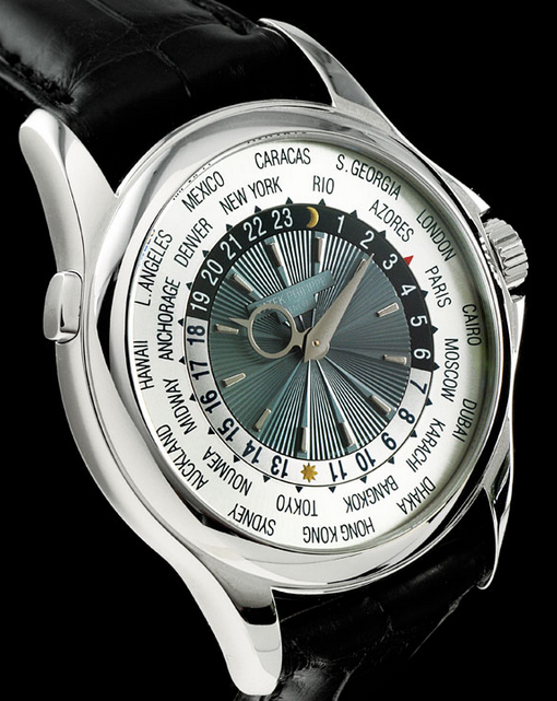 10 Most Expensive Watches In Pakistan – Patek Philippe Platinum World Time