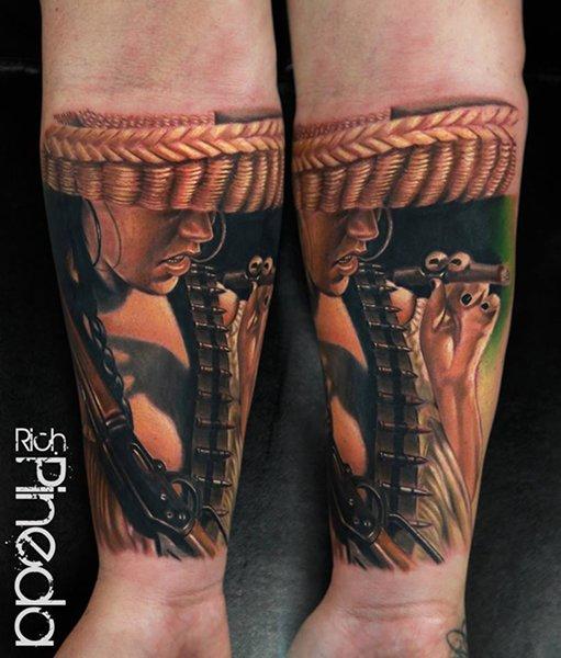 10 Popular Wrist Tattoos For Men - Fighter Wrist Tattoo