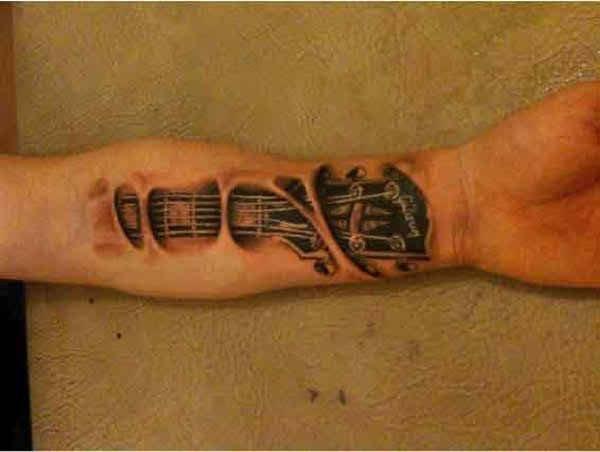 10 Popular Wrist Tattoos For Men - Musical Wrist Tattoo
