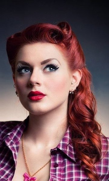 50 Simple Curly Hairstyles You Can Do In 10 Minutes Pin Up