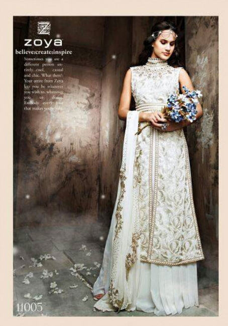 20 Indian Wedding Dresses You Can Try This Season - White Dress