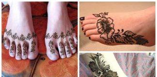 20 Simple Mehndi Designs For Feet
