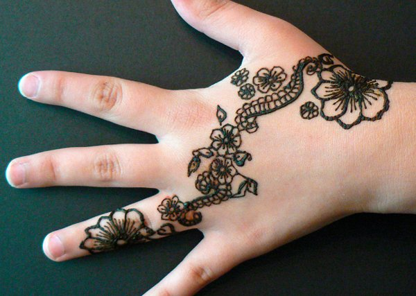 20 simple mehndi designs for hands pakistani simple mehndi bail design altavistaventures Images