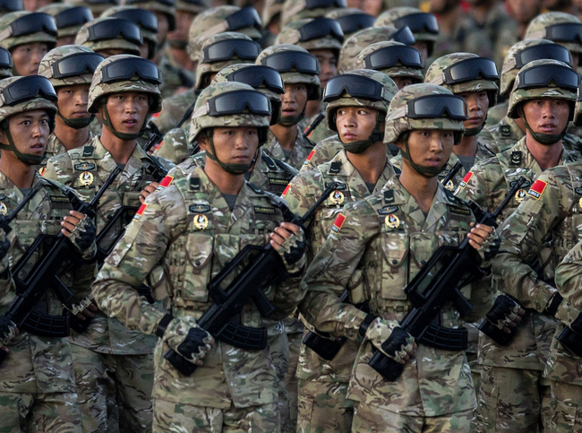 Top 10 Powerful Military In The World
