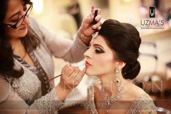 10 Best Makeup Artists In Pakistan-Uzma Salon