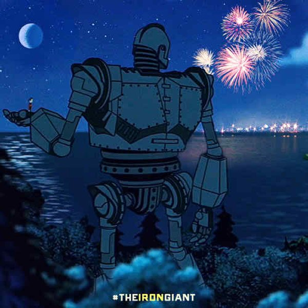 10 Famous Robots Ever Seen In Movies-The Iron Giant, The Iron Giant