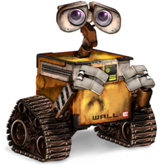 10 Famous Robots Ever Seen In Movies-Wall-E, Wall-E