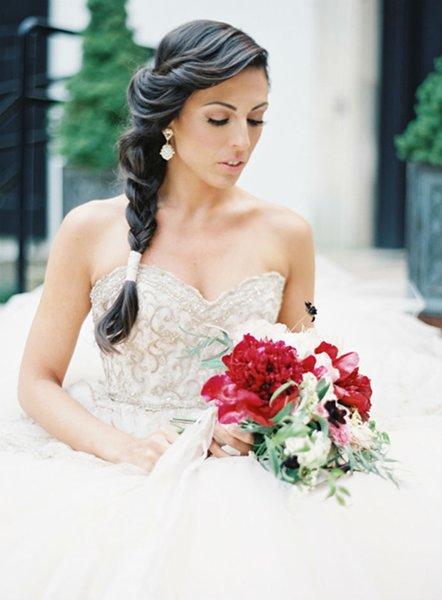 12 Summer Bridal Hairstyles For Women Front Braid Summer Wedding