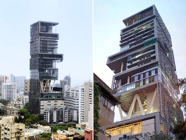 10 Most Expensive And Huge Mansions In The World-Antilia