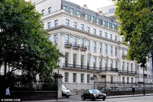 10 Most Expensive And Huge Mansions In The World-Hariri's London Mansion