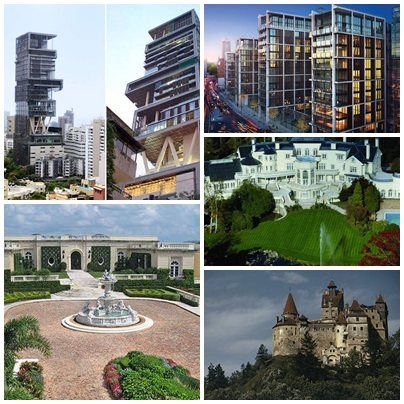 10 Most Expensive And Huge Mansions In The World