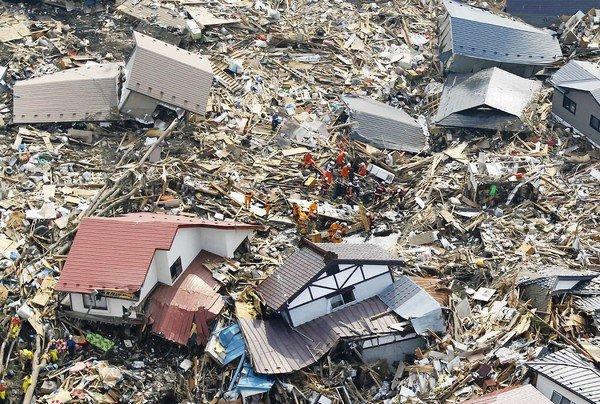 10 Worst Major Earthquakes In The World-Near the East Coast of Honshu, Japan, 2011