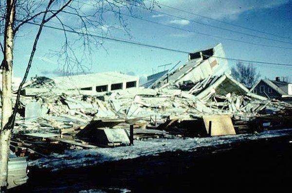 10 Worst Major Earthquakes In The World-Prince William Sound, Alaska, 1964