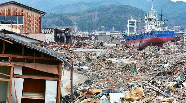 10 Worst Major Earthquakes In The World-Tohoku Earthquake and Tsunami, Japan