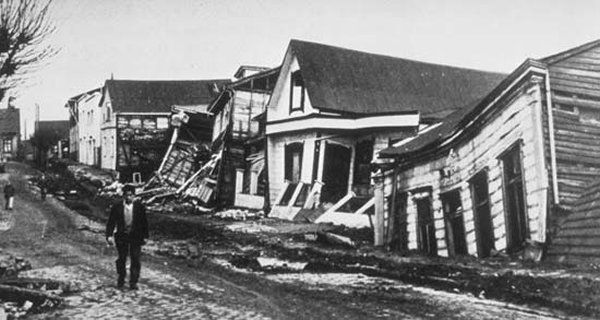 10 Worst Major Earthquakes In The World-Valdivia Earthquake, Southern Chile