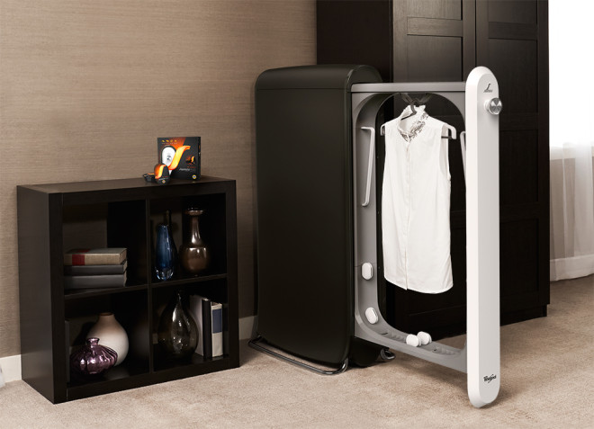12 Jaw Dropping Cutting Edge Technology-A Closet that Lets Skip the Dry Cleaners