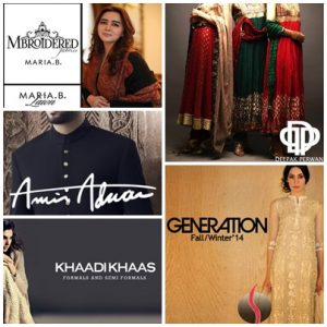 <b>Top 10 Expensive Clothing Brands In Pakistan</b>