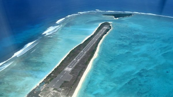 Top 10 Most Dangerous Airports In The World-Agatti Aerodrome, Lakshadweep, India